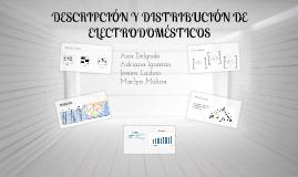 Descripción y distribución de electrodomésticos en Estados Unidos