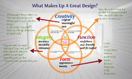 What Makes Up A Great Design?