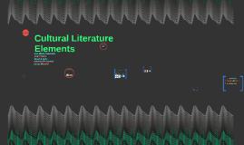 Cultural Literature Elements