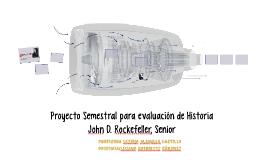 Proyecto Semestral para evaluación de Historia