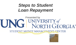 Steps to Student Loan Repayment
