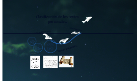 Copy of Clasificación de los textos personales.