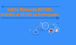 Safety Measures BEFORE, DURING or AFTER an Earthquake.
