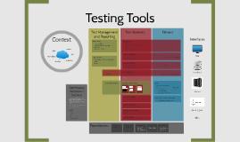 Testing Tools Landscape