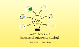 How to be a Successful University Student