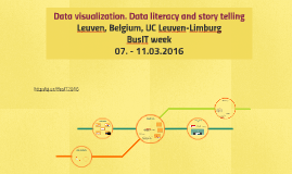 Data visualization. Data literacy and story telling
