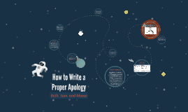 How to Write a Proper Apology