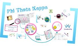 Phi Theta Kappa