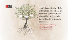 Análisis cualitativo de la estructura episódica, los recurso