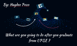What are you going to do after you graduate from UPSE ?