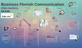 Business Finnish Communication