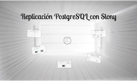 Copy of Replicación PostgreSQL con Slony