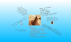 Copy of Developmental Math Technology Initiative