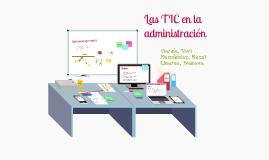 Copy of Las TIC en la administración