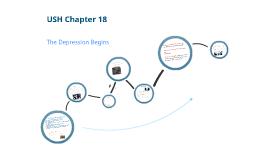 USH Chapter 18:  The Depression Begins