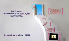 Pré Projeto:                                             INF