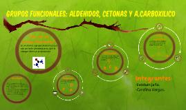 Aldehidos, Cetonas y carboxilos