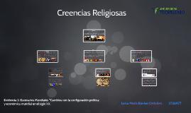 Evidencia 2 Escenarios Mundiales Creencias Religiosas