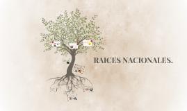 Copy of RAICES NACIONALES.