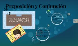 Preposición y Conjunción