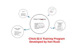 Chick-fil-A Training Program