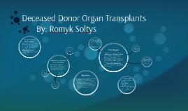 Deceased Donor Organ Transplants