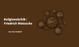 Religionskritik : Friedrich Nietzsche