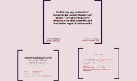 Einführung in grundsätzliche Konzepte der Gender-Studies (se