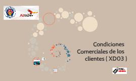 Condiciones Comerciales de los clientes ( XD03 )