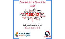"""""""Franquicias de Costa Rica 2016"""""""