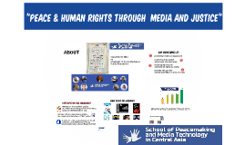 Peace and Human Rights Througth Media, Creativity and Jusice