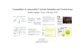 School Networks and Partnerships