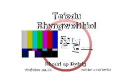 Teledu Rhyngweithiol