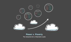 Power V. Poverty