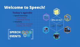 Speech Informational