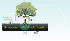 Transmisión de la Fe en la Familia