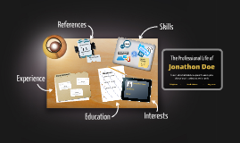 Desktop Prezumé by James Moore