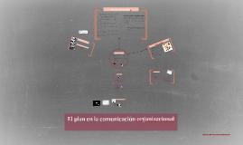 El plan en la comunicación organizacional