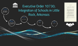 Executive Order 10730; Integration of Schools in Little Rock