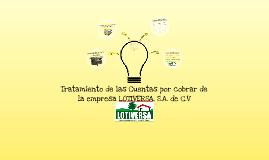 Copy of Tratamiento de las cuentas por cobrar de LOTI.