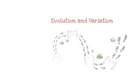evolution and variation