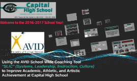 2016-2017 Capital High School Back To School