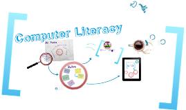 Computer Literacy Class
