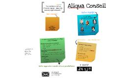 Copy of Aliqua conseil - projet DA
