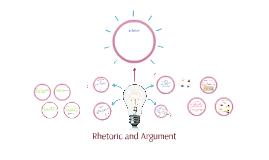 Argument and Rhetoric