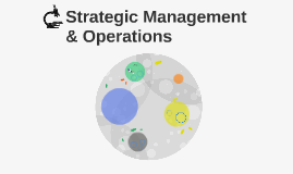 Strategic Management & Operations