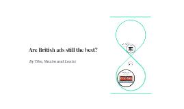 Are British ads still the best?
