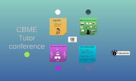 CBME Tutor Conference Workshop