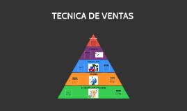 Copy of TECNICA DE VENTAS