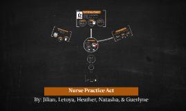 Nurse Practice Act Delegation